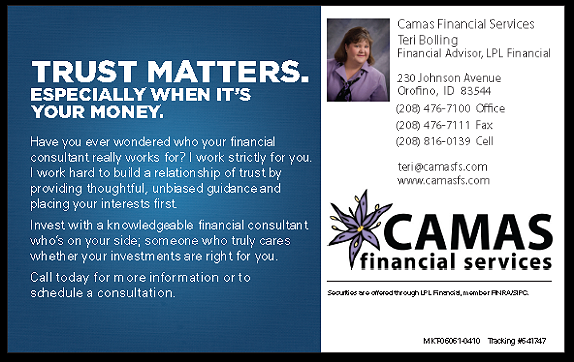 Camas Financial Services